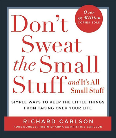 don't sweat the small stuff bookcover