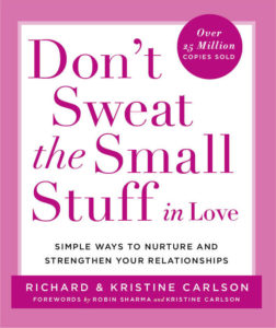 don't sweat the small stuff in love bookcover