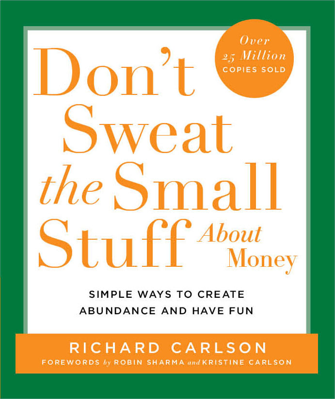 don't sweat the small stuff about money bookcover