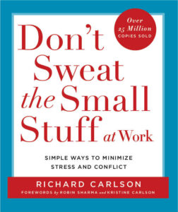 don't sweat the small stuff at work bookcover