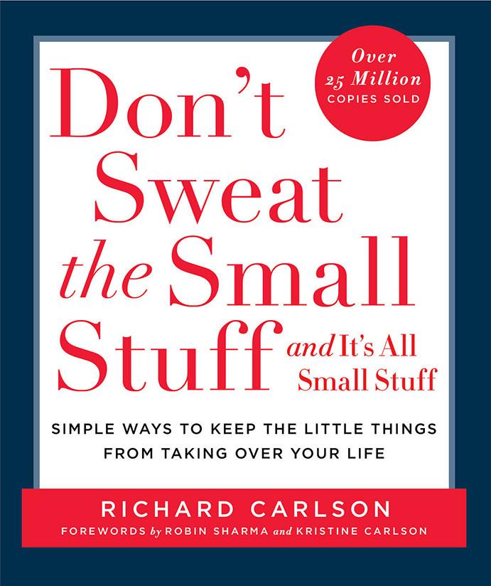 don't sweat the small stuff bookcover