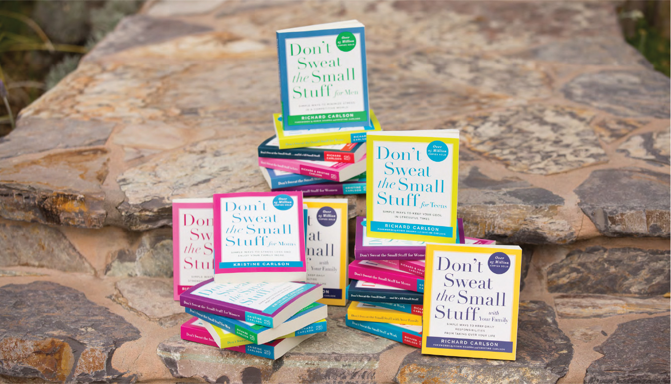 BUY THE BOOKS - Don't Sweat the small stuff
