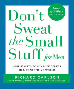 don't sweat the small stuff for men bookcover