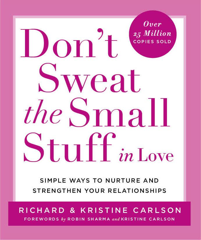 don't sweat the small stuff in love bookcover