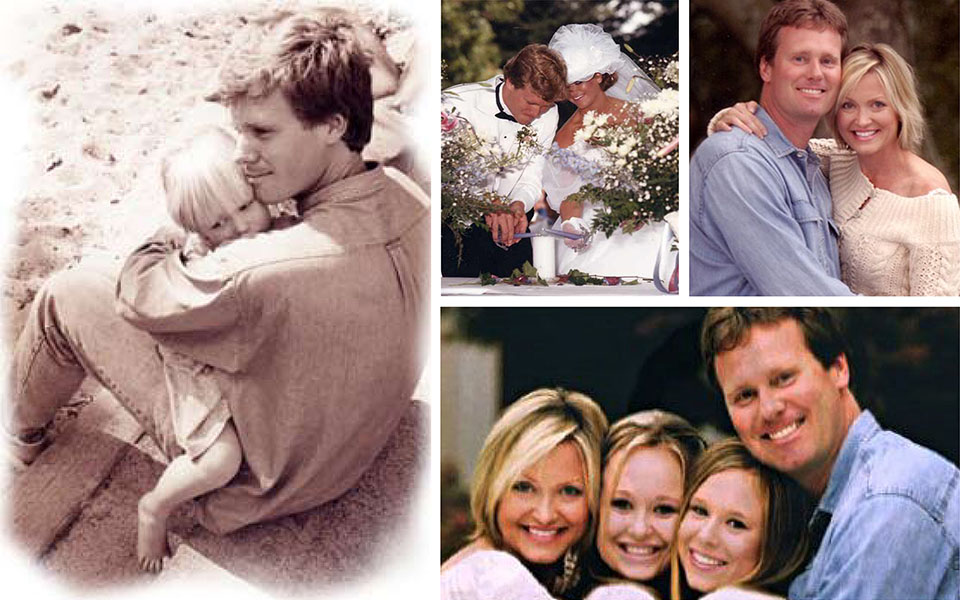 Jazzy family photos with Richard and Kristine Carlson