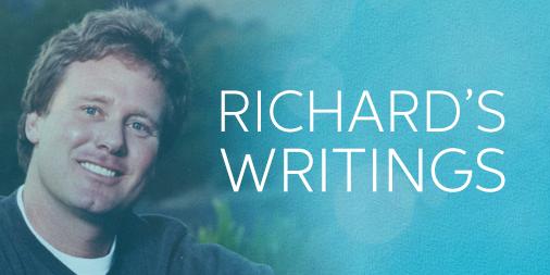 richard's writings mobile banner