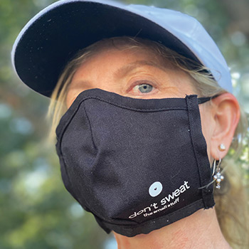 Don't Sweat the Small Stuff... and It's All Small Stuff Lightweight Canvas Face Masks