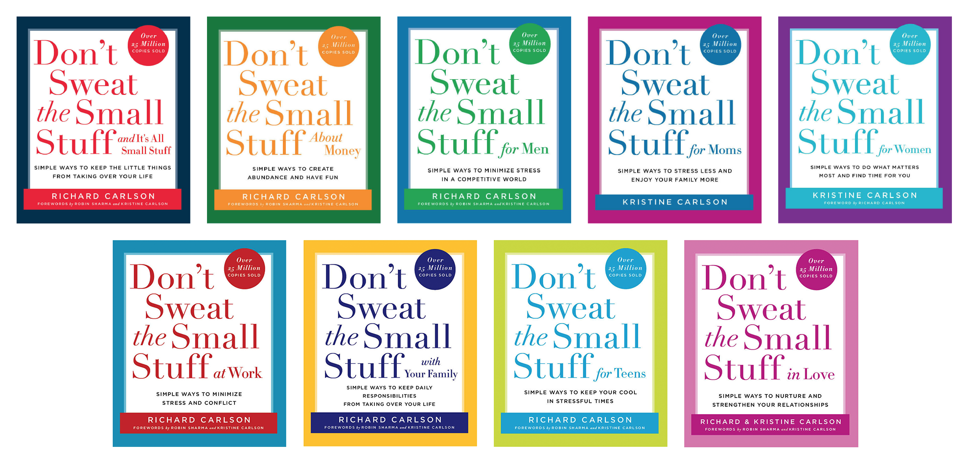 Dont Sweat the Small Stuff Books Image