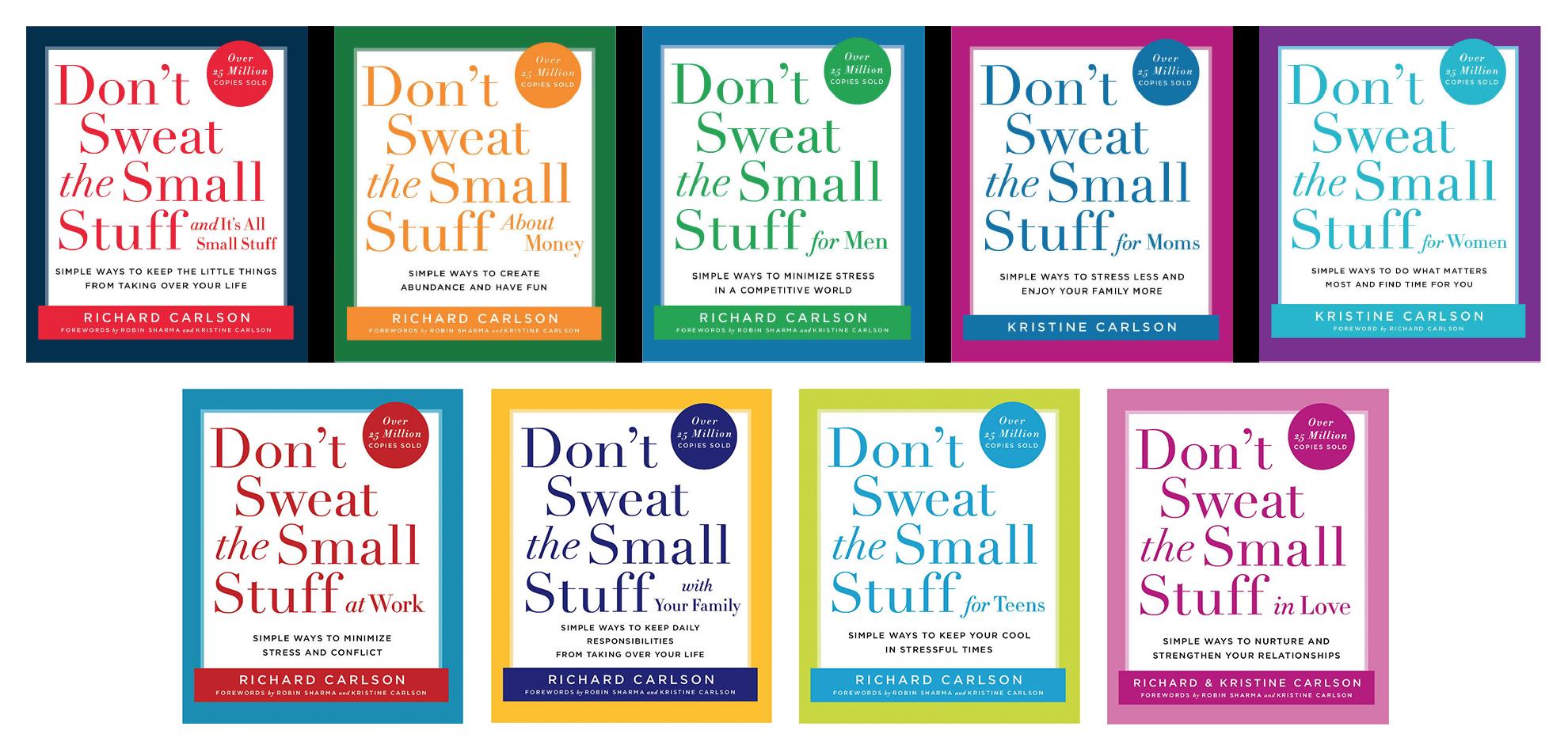 Dont Sweat the Small Stuff Books Image