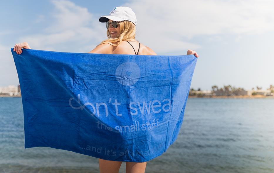 Don't Sweat The Small Stuff Towels